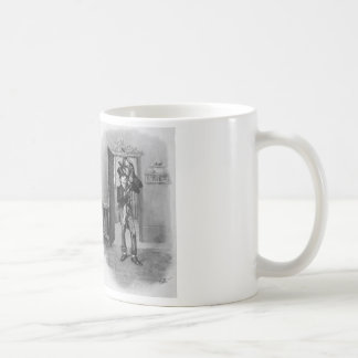Tiny Tim and Bob Cratchit. Coffee Mug