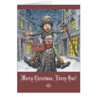 """Tiny Tim"" Christmas Card"