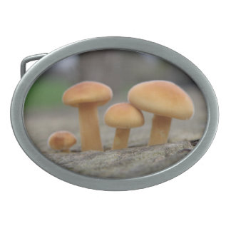 Tiny Toadstools Macro Belt Buckle