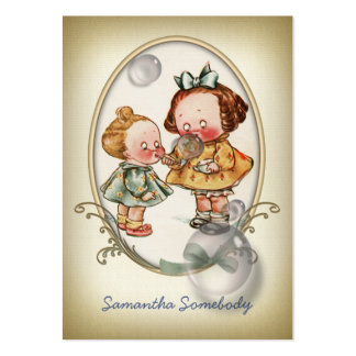Tiny Toddlers Mini Postcard Profile Card Pack Of Chubby Business Cards