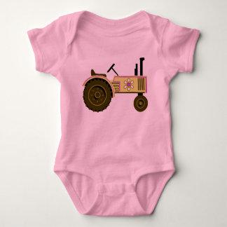Tiny Tomboy Tractor Baby Bodysuit