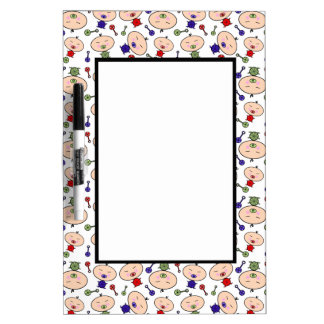 Tiny Tots Baby Pattern Dry Erase Board