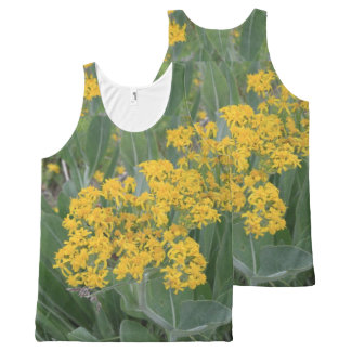 Tiny Yellow Flowers All-Over Print Tank Top