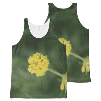 Tiny Yellow Wildflowers All-Over Print Tank Top