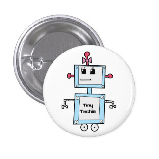 "TinyTechie 1 1/4"" Button"