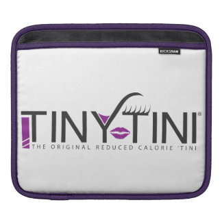 TinyTini logo ipad cover iPad Sleeve