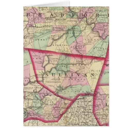 Tioga, Luzerne, Bradford, Sullivan, Wyoming Card