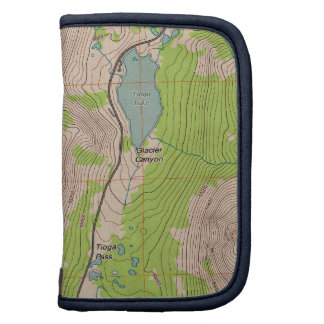 Tioga Pass California Topographic Map Planner