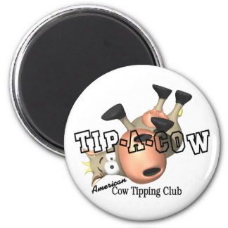 Tip a Cow T-shirts and Gifts. Refrigerator Magnets