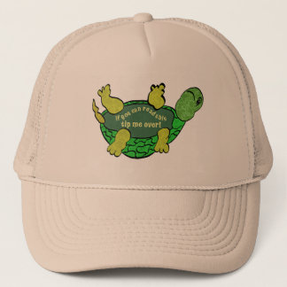 Tip me over Turtle Trucker Hat