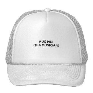 Tip musicians with hugs! cap