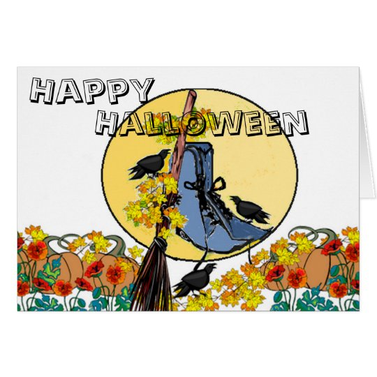 Tip Toe Through the Pumpkin Patch With Me Card