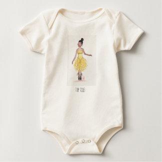 Tip Toes Baby Bodysuit
