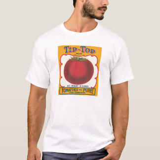 Tip-Top Tomatoes Vintage Label T-Shirt