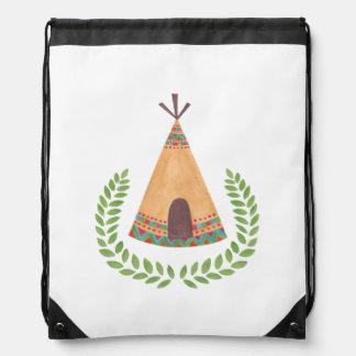 Tipi Drawstring Bags