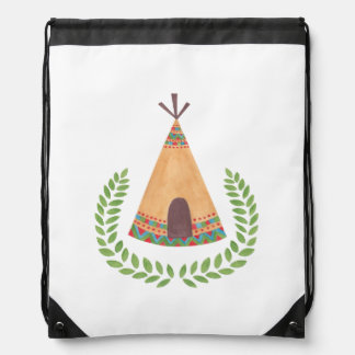 Tipi Drawstring Bag