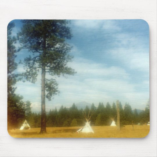 Tipi Meadow Mouse Pad