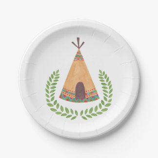 Tipi Paper Plate