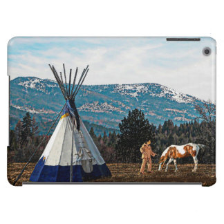 Tipi - Winter Camp Cover For iPad Air