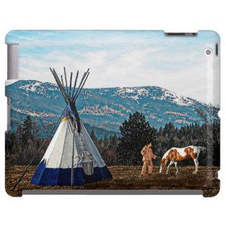 Tipi - Winter Camp iPad Case