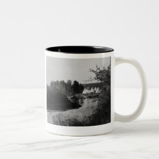Tipis by the Lake Coffee Mugs