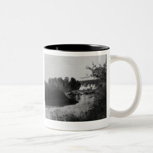 Tipis by the Lake Coffee Mugs