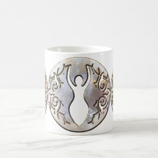 Tiple Moon Moonstone Goddess Coffee Mug