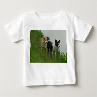 Tipper and Dixie - Border Collies Baby T-Shirt