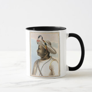 Tippoo Sultan (1749-99) plate from 'Picturesque Sc Mug