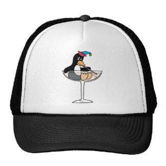 Tipsy Penguin Cap