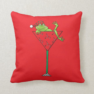 Tipsy-tini's Frog Cushion