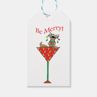 Tipsy-tini's Reindeer Gift Tags
