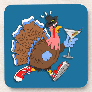 Tipsy Turkey (Martini) Coaster