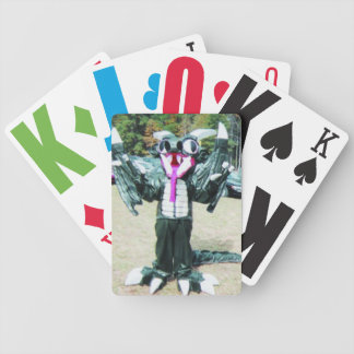 TipToe the Dragon Playing Cards