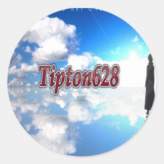 Tipton628 Logo sticker