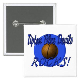 Tipton Basketball Rocks Pins