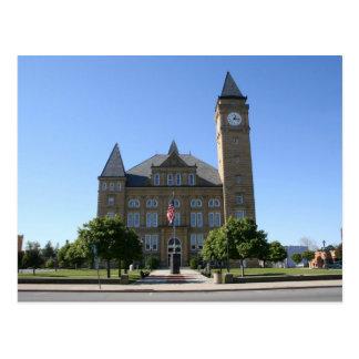 Tipton County Courthouse Postcard