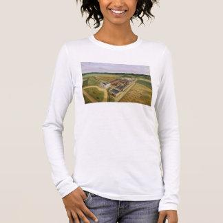 Tiptree Hall and Farm, Essex, c.1850-60 (oil on ca Long Sleeve T-Shirt