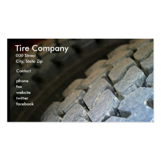 Tire Surface Business Card Template