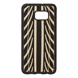 Tire Texture Abstract Pattern Wood Samsung Galaxy S6 Edge Case