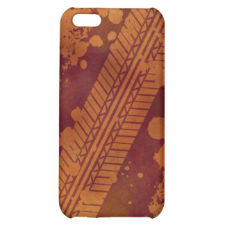 Tire Track Grunge iPhone 4 Case pumpkin