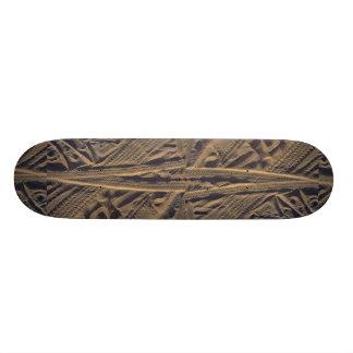 Tire tracks skateboard