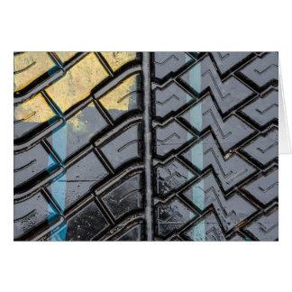 Tire Tread Card