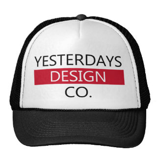 Tired design co hat