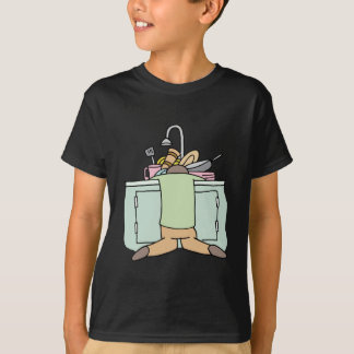Tired Dishwasher Man T-Shirt