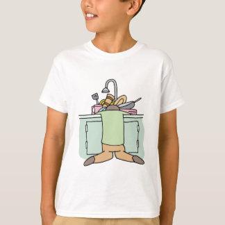Tired Dishwasher Man Tshirts
