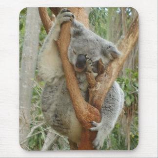 Tired Koala Mouse Mat