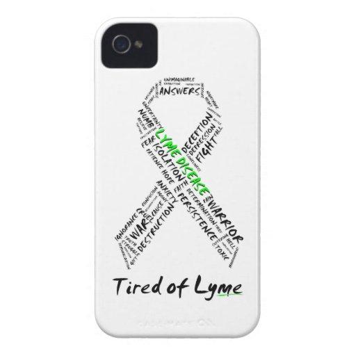 Tired of Lyme BlackBerry Bold Support Case Blackberry Cases