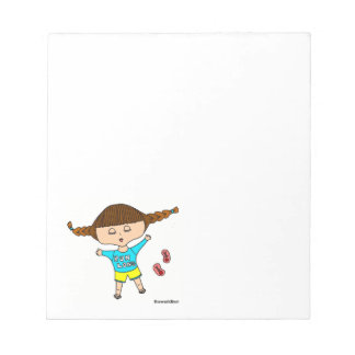 tired out runner small notepad