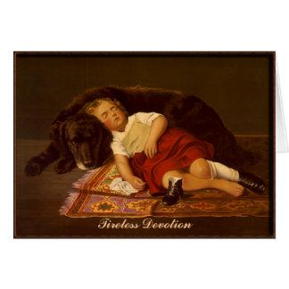 Tireless Devotion - Note Card
